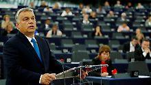 Rechtsverstöße bemängelt: EU-Parlament fordert Ungarn-Sanktionen