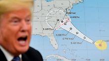 """Hurrikan kurz vor US-Südostküste: """"Florence"""" bringt meterhohe Flutwellen"""