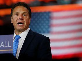Andrew Cuomo kandidiert für eine dritte Amtszeit als Gouverneur von New York.
