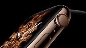 Die Krone der Apple Watch bietet jetzt auch haptisches Feedback, wenn man sie dreht.