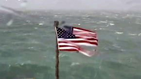 """""""Historische Regenfälle"""": """"Florence"""" donnert auf US-Ostküste"""