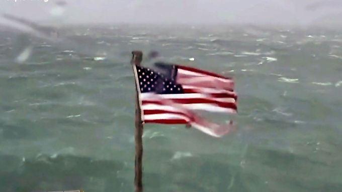 """17 Atomkraftwerke im Hurrikan-Gebiet: """"Florence""""-Ausläufer donnern auf US-Ostküste"""