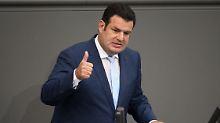 """""""Respekt vor Lebensleistung"""": Heil will nächstes Jahr Grundrente einführen"""