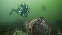 Das Erbe der Kriege: Munition, die auf dem Meeresgrund liegt