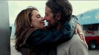 """Debüt für Lady Gaga und Bradley Cooper: Exklusiver Blick auf """"A Star is Born"""""""