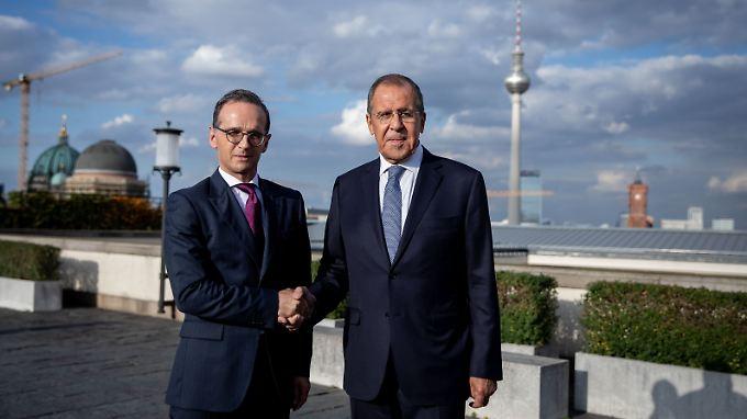 Lawrow fordert Deutschland auf, im Annäherungsprozess eine führende Rolle einzunehmen.