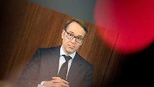 Bundesbankchef nach Finanzkrise: Weidmann gibt deutschen Banken Mitschuld