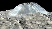 Kryovulkanismus auf Zwergplanet: Ceres bildet laufend neue Eisvulkane
