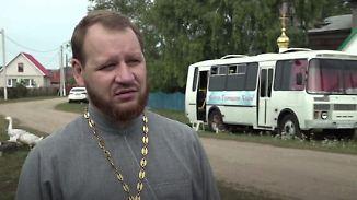 Kirche auf vier Rädern: Priester bringt Wort Gottes ins russische Hinterland