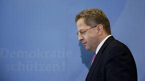 Bundesregierung lehnt Stellungnahme ab: Merkel will Maaßen angeblich ersetzen