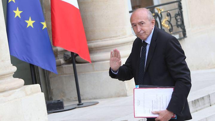 Innenminister Gérard Collomb will in die Kommunalpolitik wechseln.