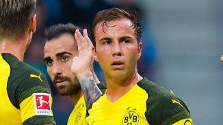 Trotz starker Leistungen im Training: Mario Götze wartet weiter auf seine Chance