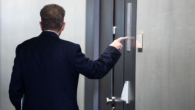 Sein Weg führt ihn bald ins Innenministerium: Hans-Georg Maaßen.