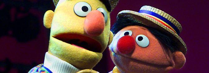 Es stimmt also, Ernie und Bert muss man sich als Paar vorstellen. Ein wenig ahnen konnte man es ja schon.