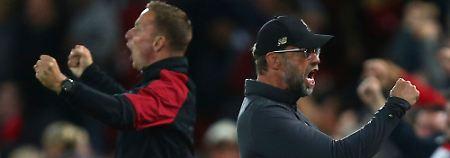 Wilde Schlussphase in Anfield: Klopps Liverpooler schlagen Tuchels PSG