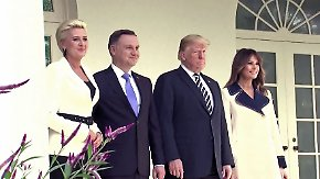 Pornostar plaudert über Intimitäten: Polen umgarnt Trump für Militärbasis gegen Russland
