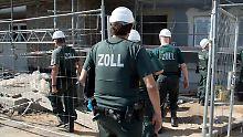 Kampf gegen mafiöse Strukturen: 3100 neue Kontrolleure gegen Schwarzarbeit