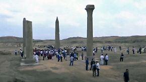 Artefakte an historischem Ort: Ägypten eröffnet eindrucksvolles Freilichtmuseum