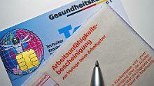 Schaden von 75 Milliarden Euro: Zahl der Krankmeldungen steigt deutlich