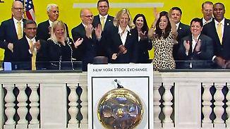 Bewährungsproben stehen bevor: US-Börsen knacken Rekorde