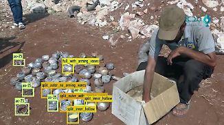 Berliner Startup bekämpft Kriegsverbrechen: Künstliche Intelligenz scannt Bomben in Syrien