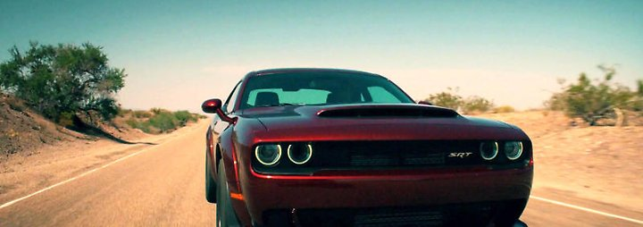Top Gear: Dodge Challenger SRT Demon