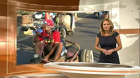 Auslandsreport: Thema u.a.: Wie Flüchtlinge nach Großbritannien kommen
