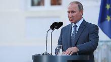 Gegen Widerstand aus USA: Russland würde Nord-Stream-2-Kosten tragen