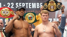 Generationenduell der Klitschko-Bezwinger: Oldie boxt gegen Knockouter Joshua um Legitimation