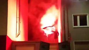 Kritik an Polizei: Rechtsextreme skandieren antisemitische Parolen in Dortmund