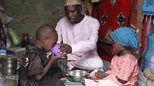 Millionen Menschen sind in Nigeria vor Boko Haram auf der Flucht und brauchen dringend Nahrung und sauberes Trinkwasser.