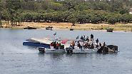 Hunderte Tote in Tansania: Kapitän nach Fährunglück auf dem Victoriasee festgenommen