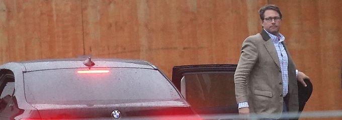 Informeller Diesel-Gipfel: Zum Krisentreffen Kanzlerin Angela Merkel und den Chefs von BMW, Daimler und Volkswagen reisen auch Verkehrsminister Andreas Scheuer (Bild) und Finanzminister Olaf Scholz an.