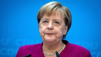 Beförderung vom Tisch: Merkel räumt Fehler im Fall Maaßen ein