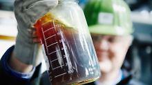 100 Liter aus 100 Kilogramm: Aus Plastikmüll wird wieder Rohöl