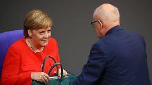 Unionsfraktion wählt Chef: Wird Merkel heute angezählt?