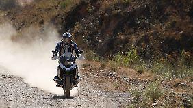 Schlechte Wege lassen sich mit wenig Gas überlaufen.