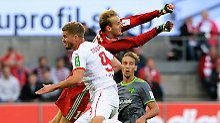 Simon Terodde rettet seinen Kölnern einen Punkt gegen Ingolstadt.