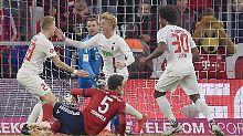 Ausgerechnet Felix Götze trifft und klaut dem FC Bayern zwei Punkte.