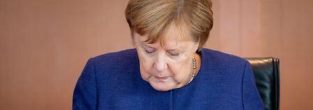 Die Kanzlerin muss eine schwere Niederlage verdauern.