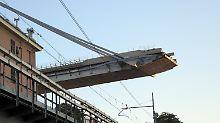 Einsturz der Morandi-Brücke: Die Genueser sind stinksauer