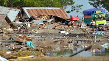 Dutzende Tote in Indonesien: Tsunami verwüstet Insel-Hauptstadt