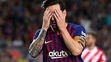 Der Sport-Tag: FC Barcelona patzt mit Teilzeit-Messi