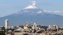 Vulkan nahe Mexico-City: Popocatépetl spuckt Rauch und Asche