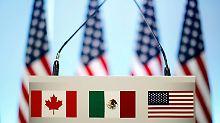 Trump gibt seinen Segen: USA und Kanada einigen sich im Nafta-Streit