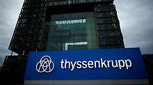 Positiver Aufspaltungseffekt: Thyssen erwartet Buchgewinn bei Aufzügen