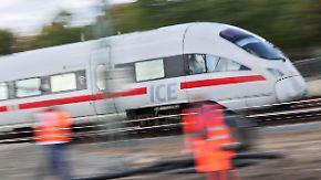 Bahn kündigt jahrelange Bauarbeiten an: Grundsanierung schränkt wichtige Strecken massiv ein