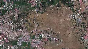 Verheerender Tsunami in Indonesien: Satellitenaufnahmen zeigen Ausmaß der Katastrophe
