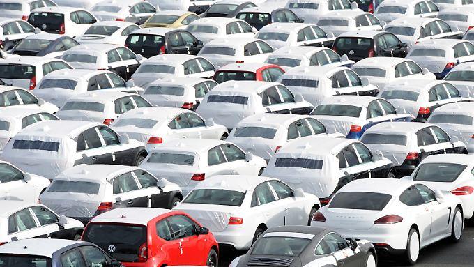 Besonders wenig Neuzulassungen gab es bei den VW-Töchtern Audi, Porsche und Volkswagen.