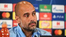 """""""Ich habe kein Whatsapp, aber ich sende SMS"""": Josep Guardiola."""